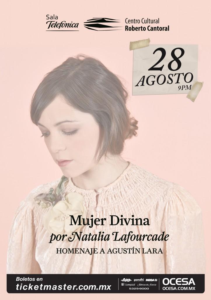 Natalia Lafourcade en el Centro Cultural Roberto Cantoral