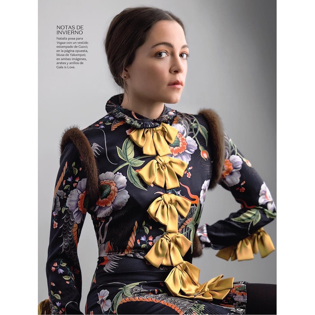 Natalia Lafourcade en la Revista Vogue México - Página 1