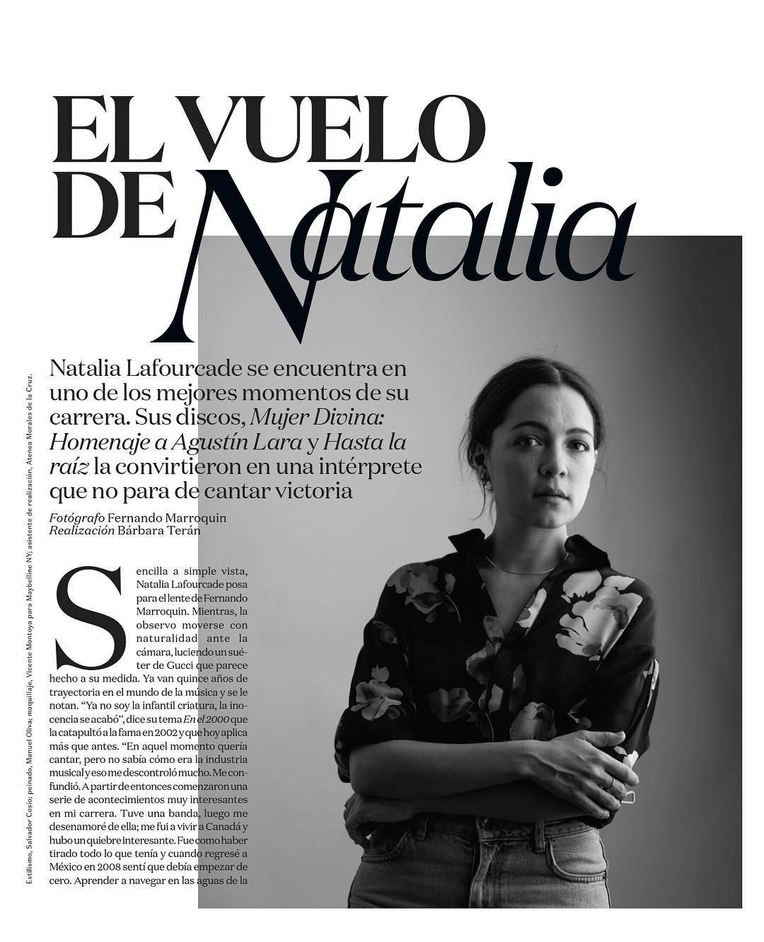 Natalia Lafourcade en la Revista Vogue México - Página 4