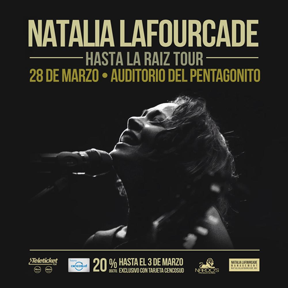 Natalia Lafourcade en Perú