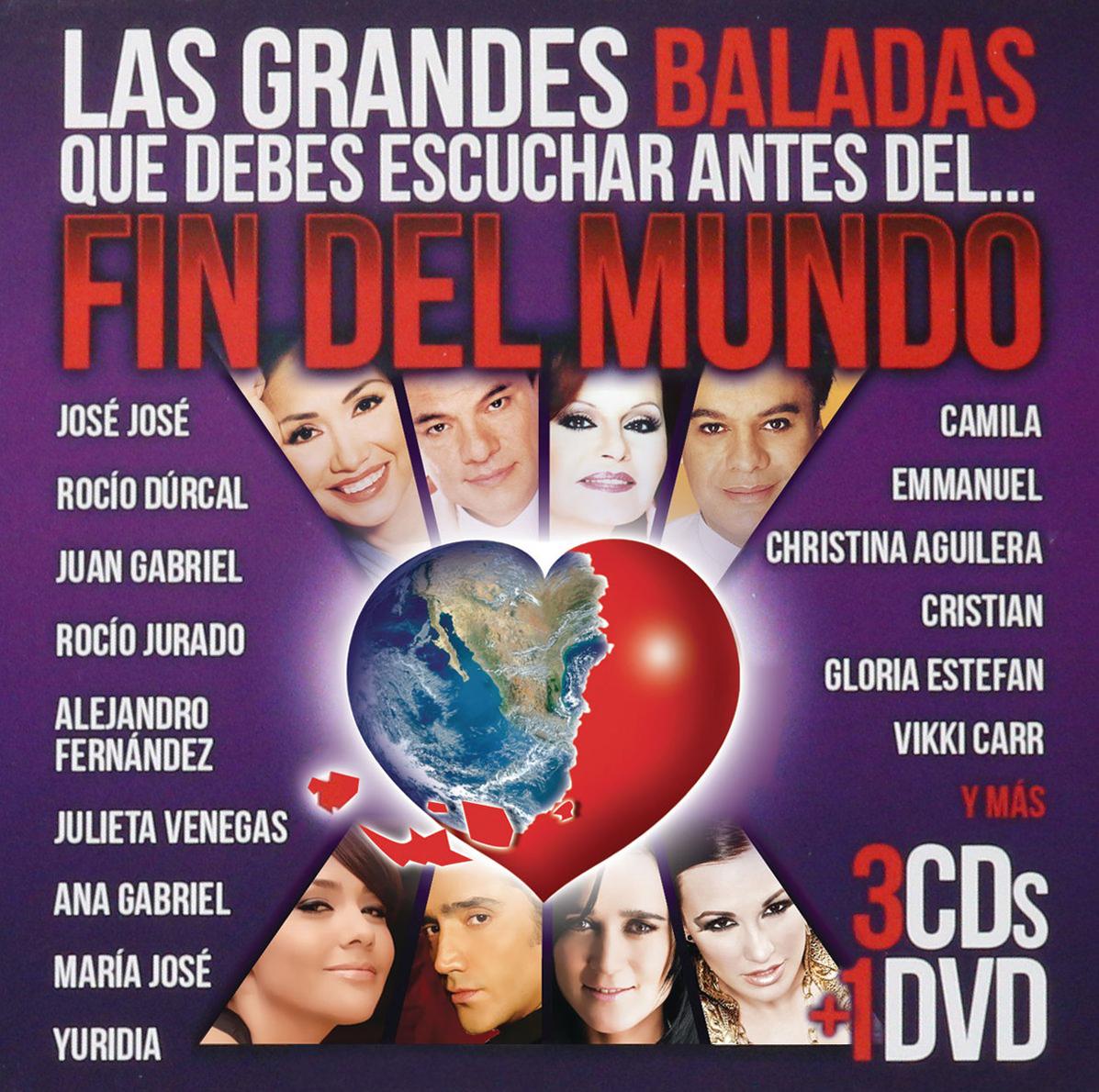 Grandes baladas escuchar fin mundo DVD