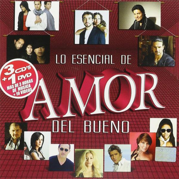Lo esencial de amor del bueno 2010 DVD-600