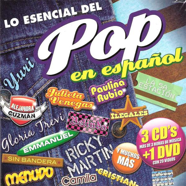 Lo esencial del Pop en Espanol Fisico