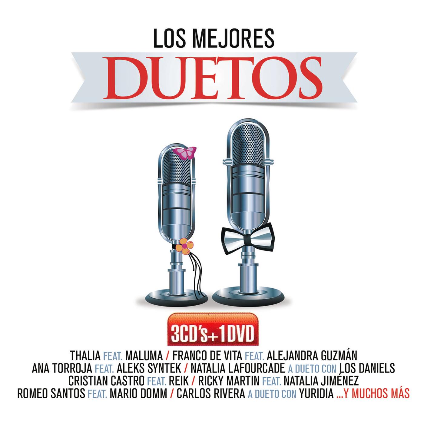Los mejores duetos 2016 - 3 cd dvd