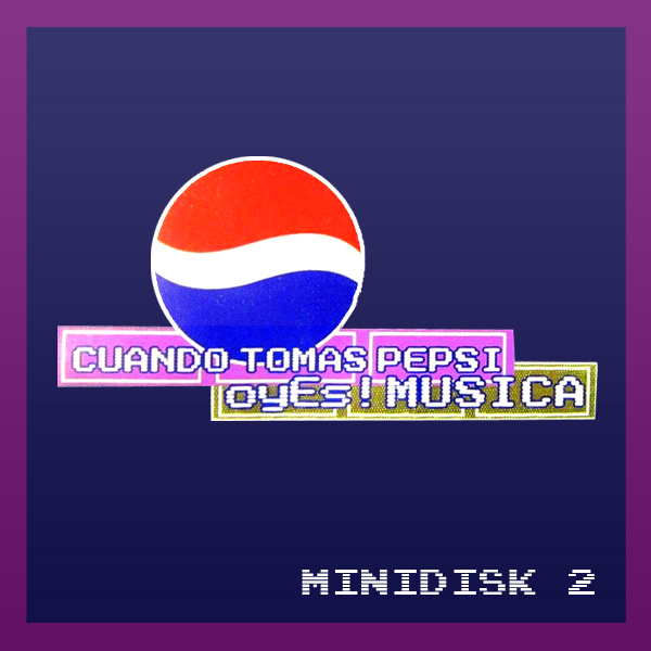 Pepsi Minidisk 2