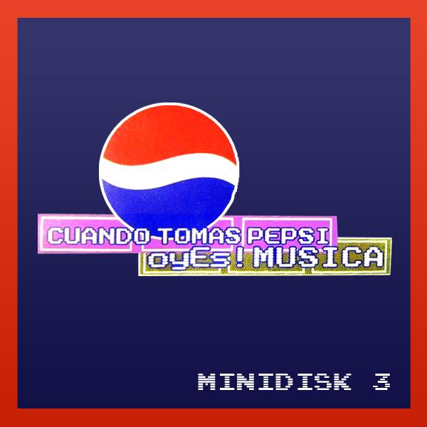 Pepsi Minidisk 3
