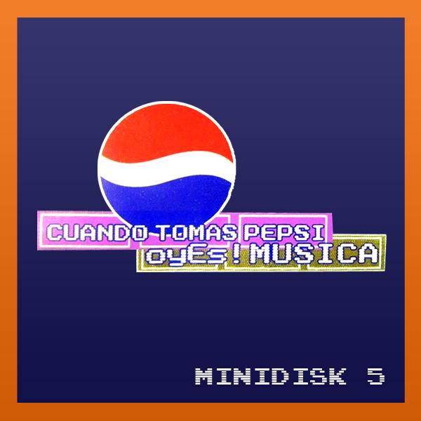 Pepsi Minidisk 5