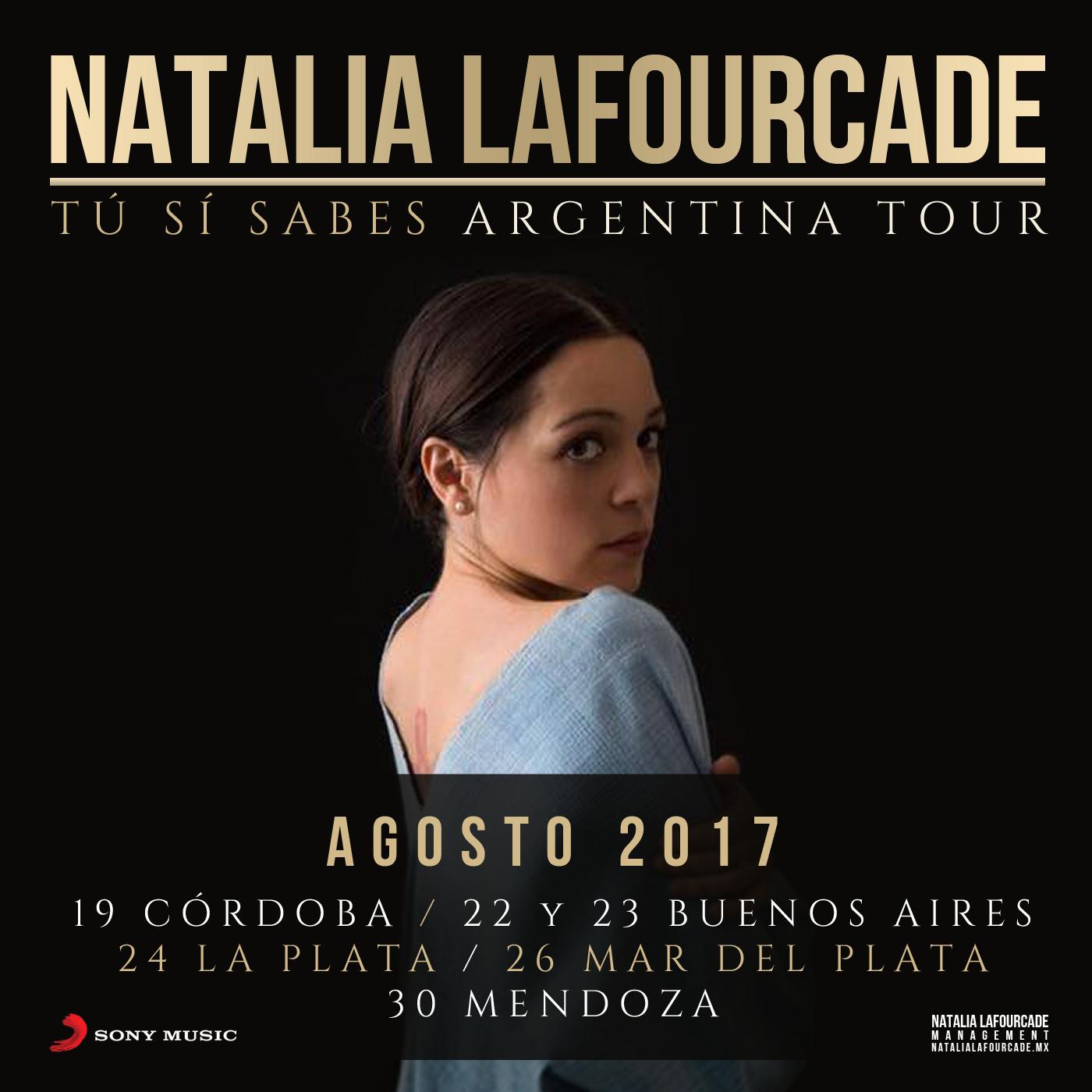 Argentina 2017 - New 2 Natalia Lafourcade