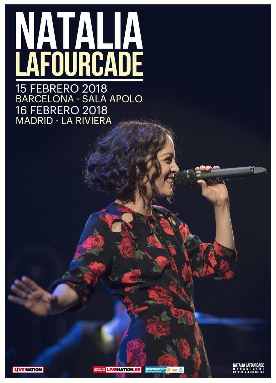 Natalia Lafourcade Espana 2018