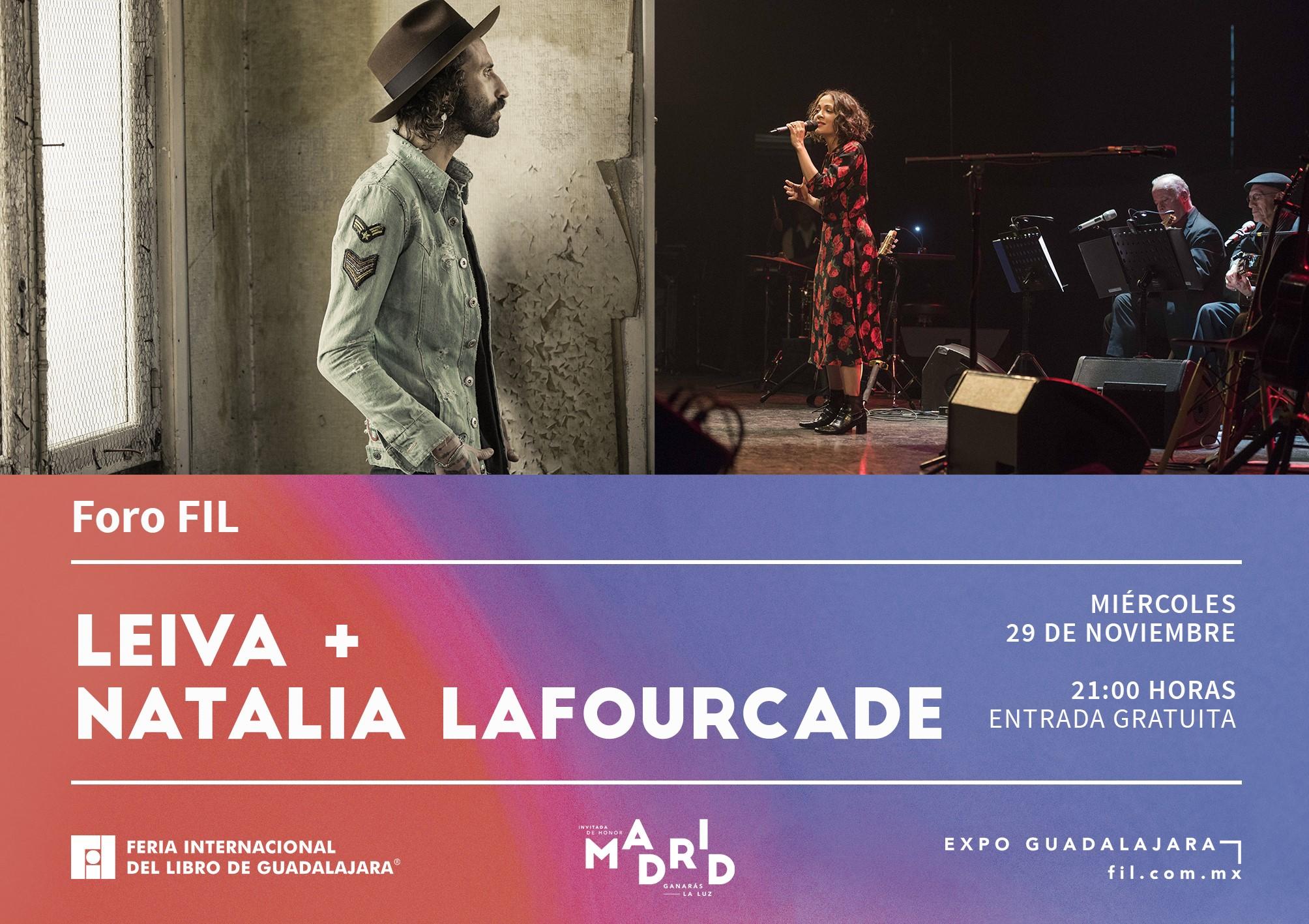 FIL 2017 Leiva Lafourcade Flyer