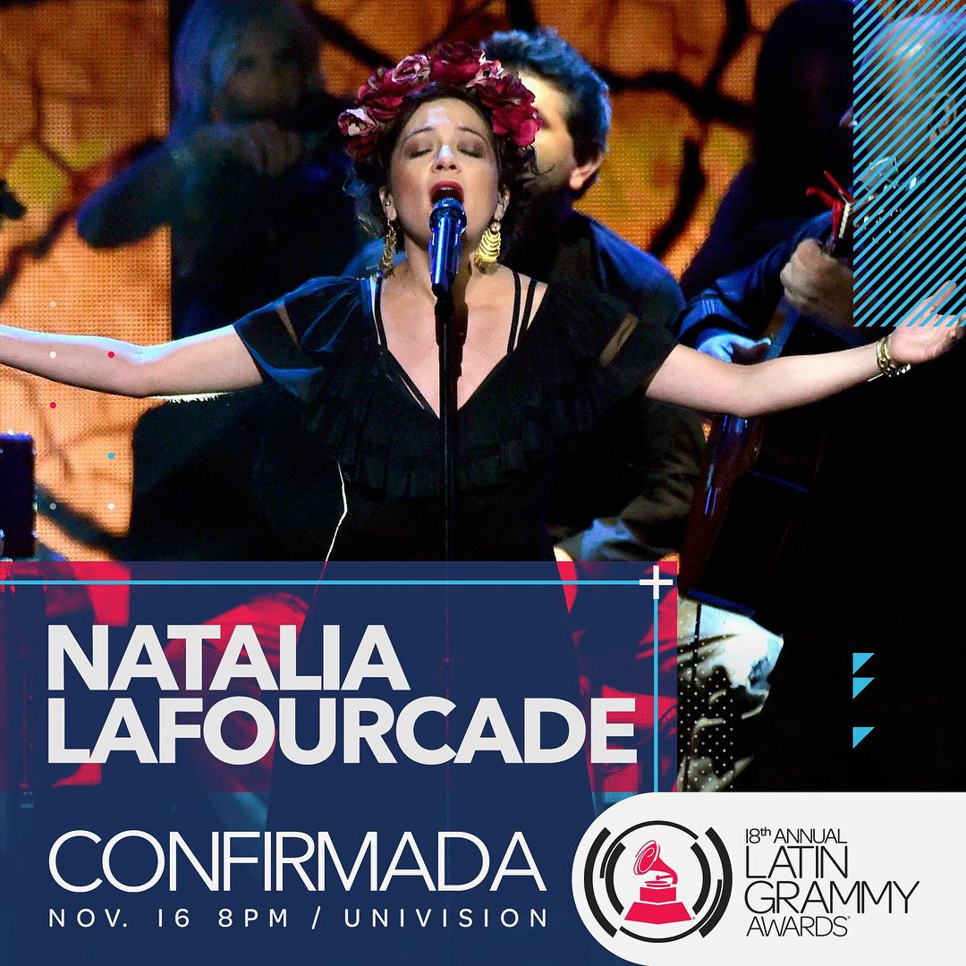 Natalia Lafourcade Latin Grammy 2017