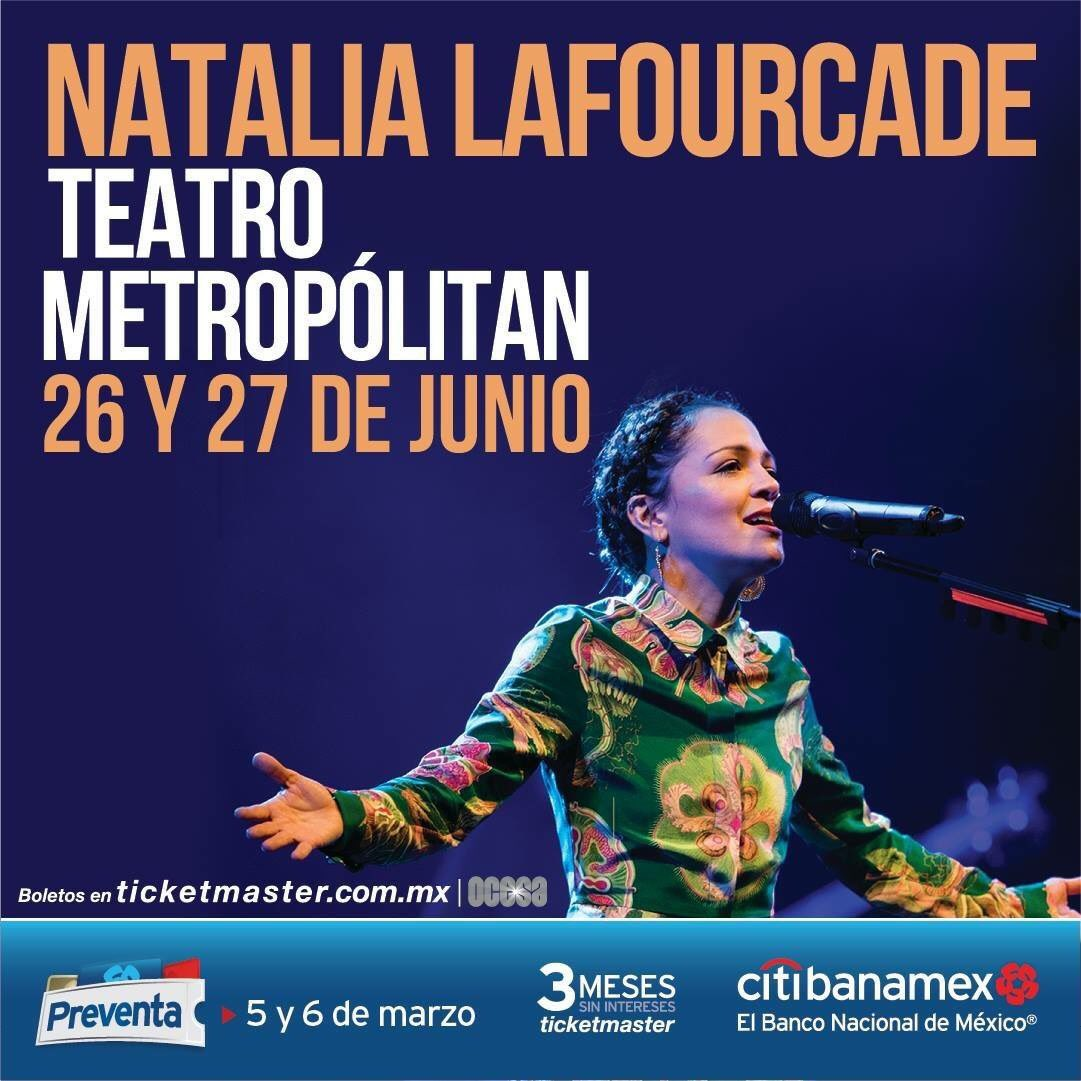 Natalia-Lafourcade-Musas-Teatro-Metropolitan-Junio-26-27-Preventa-Instagram