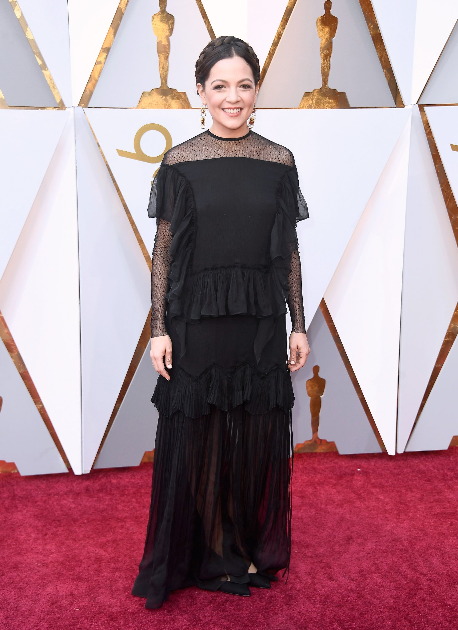 Natalia Lafourcade Oscars 2018 Coco Remember me Red Carpet 03