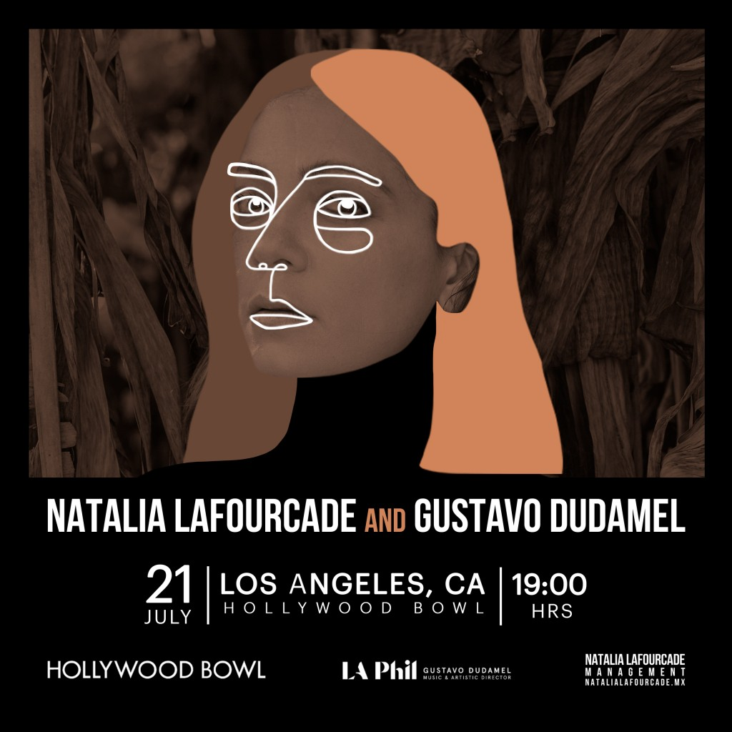 NataliaLafourcade_Tour2019_Dudamel
